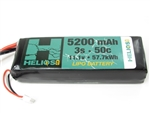 Helios RC 5200mAh 3S 11.1V 50C LiPo Battery - XT90
