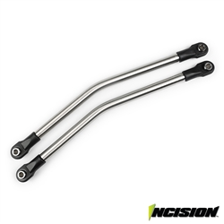 Incision Yeti 1/4 Stainless Steel Rear Upper Suspension Link Kit