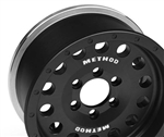 "Incision Single Method 1.9"" MR307 Black Anodized Wheel (1)"