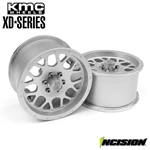 "Incision KMC 2.2"" XD820 Grenade Clear Anodized Wheels (2)"