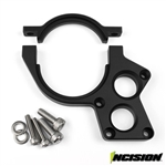 Incision Yeti/RR10 Motor Plate Black Anodized