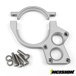 Incision Yeti/RR10 Motor Plate Clear Anodized