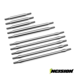 "Incision TRX-4 Stainless Steel 10pc Link Kit 12.8"" Wheelbase"