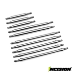 Incision TRX-4 Stainless Steel 10pc Link Kit 12.3in Wheelbase