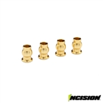 Incision Brass Upper Shock Pivot Balls for VS4-10