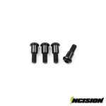 Incision Kingpin Shoulder Screws (4)