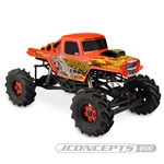 JConcepts Bog Hog Mega Truck Body Clear
