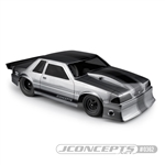 JConcepts 1991 Ford Mustang Fox SCT-Drag Clear Body