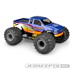 JConcepts 2005 Ford F-250 Super Duty Monster Truck Clear Body