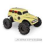 "JConcepts 1951 Ford Panel Stampede Size Clear Body ""Grandma"""