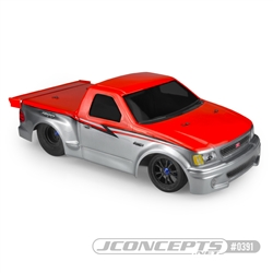 JConcepts 1999 Ford F-150 Lightning Clear Drag Body