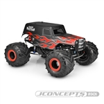 JConcepts Junior Mortician Panel Truck Clear Body