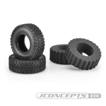 "JConcepts Bounty Hunters Scale Country Class 1 1.9"" Crawler Tires (Green Compound) (2)"