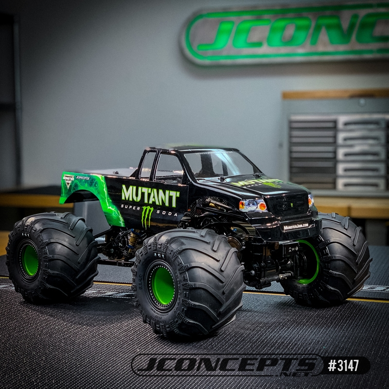 Monster Truck Tires >> Jconcepts Jct 2 6 X 3 6 Scale Monster Truck Tires Gold Clay Soft