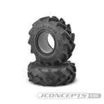 "JConcepts Fling King 2.6"" Mega Truck Tires Gold (Medium) Compound (2)"