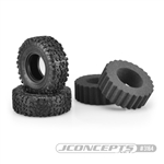 "JConcepts Landmines Scale Country Class 1 1.9"" Crawler Tires (Green Compound) (2)"