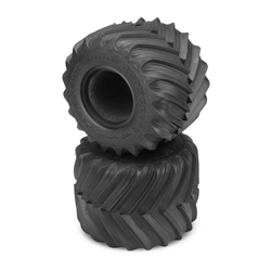 "JConcepts Renegades 2.6"" x 3.6"" Scale Monster Truck Tires Gold (Clay Soft) Compound (2)"