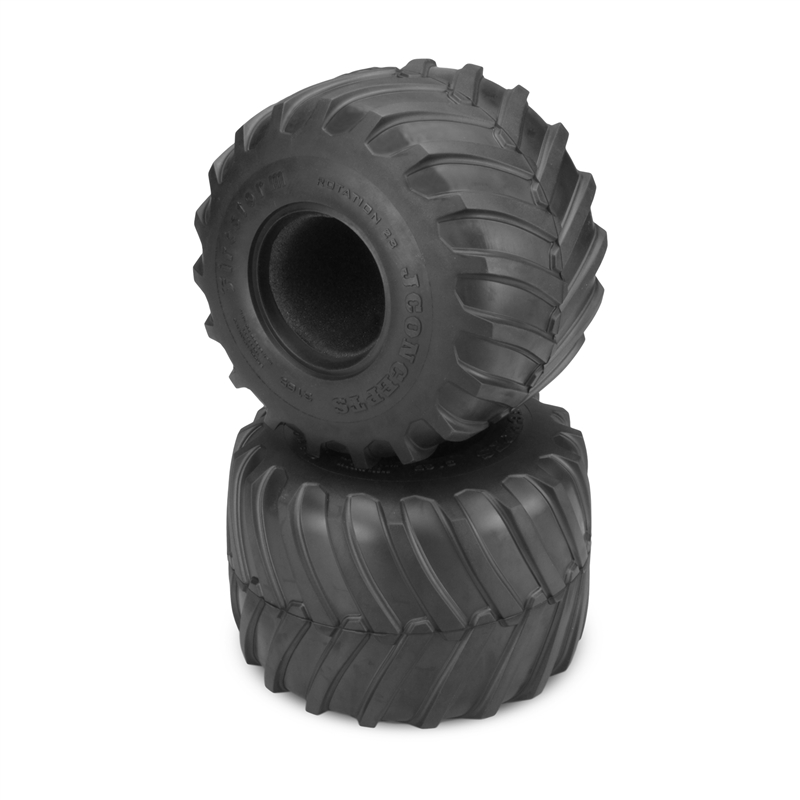 Monster Truck Tires >> Jconcepts Firestorm 2 6 X 3 6 Scale Monster Truck Tires Gold Clay
