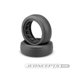 "JConcepts Hotties 2.2"" Drag Racing Front Tire Green Compound (2)"