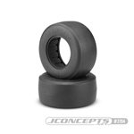JConcepts Hotties Short Course Truck Rear Tires for Drag Racing Gold (Clay Soft) Compound (2)