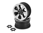 "JConcepts Hustle 1.9"" 12mm Glue-On Wheel (2)"