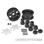 "JConcepts Dragon 2.6"" Mega Truck Wheels (2)"