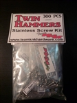 Team KNK Vaterra Twin Hammers Stainless Hardware Kit