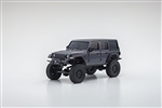 Kyosho MINI-Z 4X4 RTR with Jeep Wrangler Unlimited Rubicon Body - Grey
