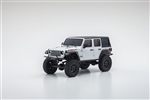 Kyosho MINI-Z 4X4 RTR with Jeep Wrangler Unlimited Rubicon Body - White