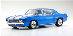 Kyosho Fazer Mk2 FZ02L RTR With 1969 Chevy Camaro Z/28 Body - Le Mans Blue