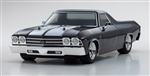 Kyosho Fazer Mk2 FZ02L RTR with 1969 Chevy El Camino SS 396 Body - Black