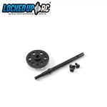 Locked Up RC SCX10 II Slipper Eliminator Kit