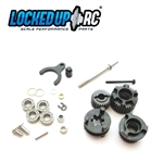 Locked Up RC 2 Speed Conversion Kit - SCX10 II