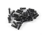 Locked Up RC M2 x 5mm Scale Hex Bolts (30) Black