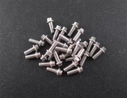 Locked Up RC M2 x 5mm Scale Hex Bolts (30) SS