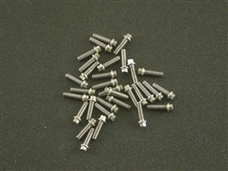 Locked Up RC M2 x 7mm Scale Hex Bolts (30) SS