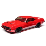 Losi 1/10 V100 AWD Brushed RTR with 1969 Chevy Camaro Body - Red