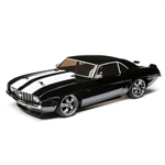 Losi 1/10 V100 AWD Brushed RTR with 1969 Chevy Camaro Body - Black