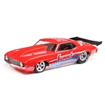 Losi 22S No Prep Brushless Drag Car RTR with '69 Camaro Body - Summit Red