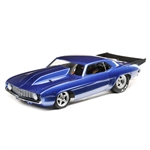 Losi 22S No Prep Brushless Drag Car RTR with '69 Camaro Body - Blue