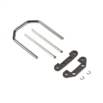 Losi Front Hinge Pins and Brace Set Baja & Rock Rey