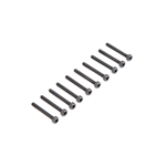 Losi Cap Head Screws M3 x 25mm (10)