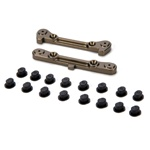 Losi Adjustable Rear Hinge Pin Brace w/Inserts: 8B/8T