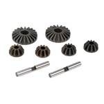 Losi Differential Gear & Shaft Set: 8B,8T