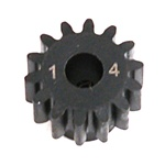 Losi 1.0 Module Pitch Pinion, 14T: 8E,SCTE