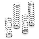 Losi Front & Rear Shock Spring Set  for SCT-E and TEN-T (4, Soft Silver)