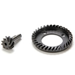 Losi Fr Ring & Pinion Gear Set: 10-T
