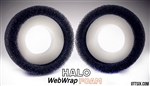 "Team Ottsix Racing 1.9"" HALO WebWrap Foams 3.7"" OD - Black Dot (2)"
