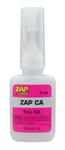 Pacer Technology Zap Pink CA Glue 1/2 oz (Thin)