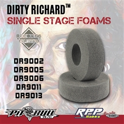 "Pit Bull 1.9 Dirty Richard Single Stage Foam 4.50"" x 1.6"" Firm (2)"